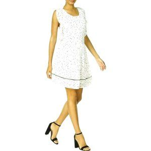 Maison Jules Ruffled Criss-Cross Mini Dress - NWT